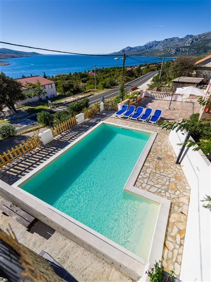 Kuća za odmor Marija-with view to the sea and the mountains
