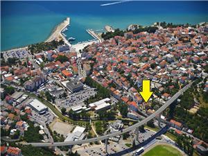 Appartement PIANO Crikvenica, Superficie 90,00 m2, Distance (vol d'oiseau) jusqu'au centre ville 10 m