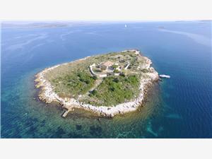 Huis Ravna Sika Kroatië, Afgelegen huis, Kwadratuur 80,00 m2, Lucht afstand tot de zee 20 m