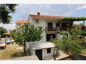 Apartmá Jadranka M. Silo - ostrov Krk, Prostor 46,00 m2, Vzdušní vzdálenost od centra místa 350 m