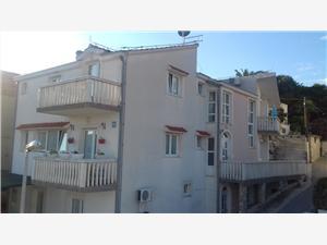 Appartements Muic Tisno - île de Murter, Superficie 25,00 m2, Distance (vol d'oiseau) jusque la mer 200 m, Distance (vol d'oiseau) jusqu'au centre ville 300 m