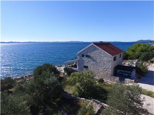 Kuća na osami Sjevernodalmatinski otoci,Rezerviraj Sunshine Od 757 kn