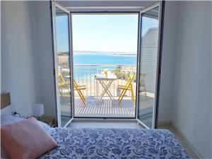 Lägenhet ELA-with breathtaking seaview Zadars Riviera, Storlek 40,00 m2, Luftavstånd till havet 50 m