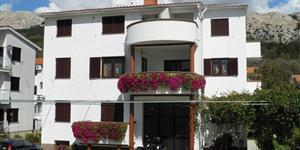 Apartmá - Baska - ostrov Krk