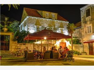 Дом B&B Mimbelli Orebic, квадратура 12,00 m2, Воздуха удалённость от моря 10 m, Воздух расстояние до центра города 10 m
