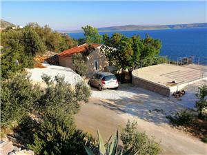 Kuća za odmor Anica Hrvatska, Kuća na osami, Kvadratura 90,00 m2, Zračna udaljenost od mora 160 m