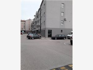 Апартамент Betty Ploce, квадратура 54,00 m2, Воздух расстояние до центра города 200 m