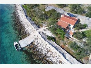 Hiša Antun Tkon - otok Pasman, Hiša na samem, Kvadratura 48,00 m2, Oddaljenost od morja 30 m