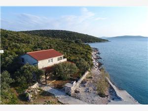 Kuća na osami Sjevernodalmatinski otoci,Rezerviraj Shark Od 740 kn