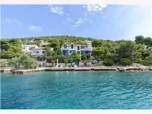 Apartmány Rosa Kaprije - ostrov Kaprije, Rozloha 70,00 m2, Vzdušná vzdialenosť od mora 5 m