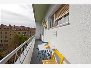 Апартамент Lorena Split, квадратура 55,00 m2, Воздух расстояние до центра города 750 m