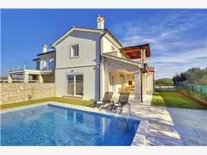 Villa Maria Andrea Novigrad, Kwadratuur 175,00 m2, Accommodatie met zwembad