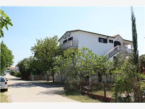 Appartementen Vuk Sabunike (Privlaka), Kwadratuur 34,00 m2, Lucht afstand naar het centrum 200 m