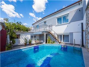 Casa DELFIN Tribalj, Dimensioni 130,00 m2, Alloggi con piscina