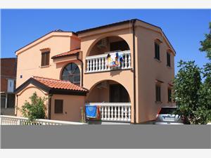 Appartementen Jadranka Nin, Kwadratuur 24,00 m2, Lucht afstand naar het centrum 500 m