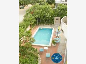 Apartmani Villa Romantika Rovinj, Kvadratura 50,00 m2, Smještaj s bazenom