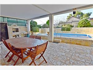 Lägenheter Vila Mila Sutomore, Storlek 89,00 m2, Privat boende med pool