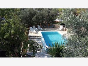 Lägenheter Franica Vela Luka - ön Korcula, Storlek 57,00 m2, Privat boende med pool, Luftavstånd till havet 20 m