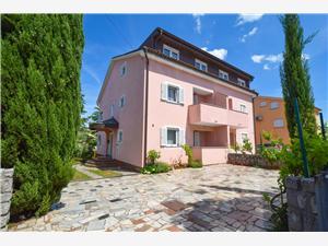 Apartmaj Mira Malinska - otok Krk, Kvadratura 60,00 m2, Oddaljenost od morja 200 m