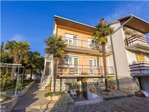 Apartmány ZOKI Crikvenica, Rozloha 71,00 m2, Vzdušná vzdialenosť od centra miesta 400 m