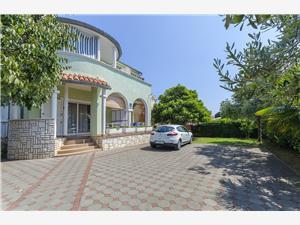 Apartmány Zlata Srima (Vodice), Prostor 50,00 m2, Vzdušní vzdálenost od moře 20 m