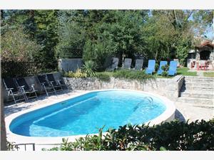Апартаменты Irenka Ривьера Опатия, Каменные дома, квадратура 55,00 m2, размещение с бассейном