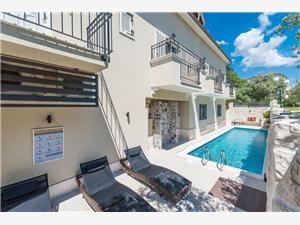 Appartements Vanja , Superficie 35,00 m2, Hébergement avec piscine, Distance (vol d'oiseau) jusqu'au centre ville 200 m