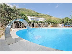Accommodation with pool Budva riviera,Book Rezevici From 285 €