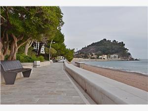 Apartmán Vanja Čierna Hora, Rozloha 105,00 m2, Vzdušná vzdialenosť od mora 40 m, Vzdušná vzdialenosť od centra miesta 25 m