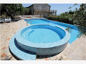 Vila Medo Černá Hora, Kamenný dům, Prostor 450,00 m2, Soukromé ubytování s bazénem