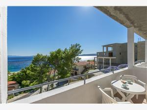 Ferienwohnung und Zimmer Lile Brela, Größe 15,00 m2, Luftlinie bis zum Meer 200 m