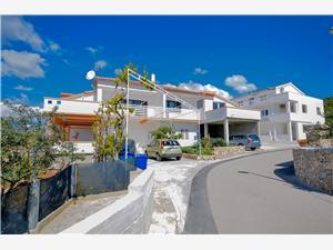 Апартаменты Bogdan Tribunj, квадратура 59,00 m2, Воздух расстояние до центра города 350 m