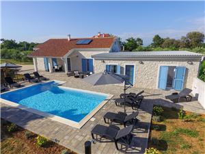 Villa Rafajela Privlaka (Zadar), Size 150.00 m2, Accommodation with pool, Airline distance to the sea 150 m