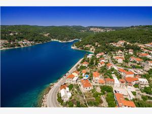 Willa Mir Vami Sumartin - wyspa Brac, Powierzchnia 150,00 m2, Kwatery z basenem, Odległość do morze mierzona drogą powietrzną wynosi 200 m