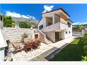 Willa Živana Dugi Rat, Powierzchnia 85,00 m2, Kwatery z basenem, Odległość od centrum miasta, przez powietrze jest mierzona 500 m
