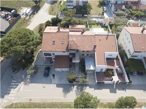 Apartmanok Armando Fazana, Méret 60,00 m2, Nemzeti Park bejáratától való távolság 500 m, Központtól való távolság 200 m