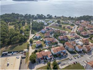 Apartmány Armando Fazana, Prostor 60,00 m2, Vzdálenost od vchodu do Nacionálního parku 500 m, Vzdušní vzdálenost od centra místa 200 m