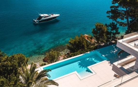 Boende nära havet Kroatien