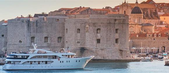 Croisière en bateau depuis le port de Dubrovnik