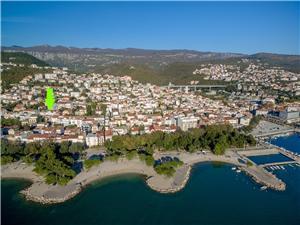 Beachfront accommodation Rijeka and Crikvenica riviera,Book 2 From 114 €