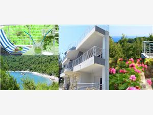 Appartementen Wild Beauty Bar en Ulcinj riviera, Kwadratuur 42,00 m2