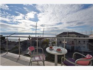 Apartmány Dragun Sumpetar (Omis), Prostor 65,00 m2, Vzdušní vzdálenost od moře 120 m, Vzdušní vzdálenost od centra místa 100 m