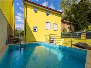 Vakantie huizen De Crikvenica Riviera en Rijeka,Reserveren Eddy Vanaf 300 €