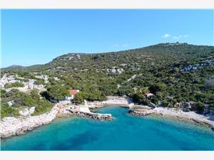 Дом Jessica Хорватия, Дома в уединенных местах, квадратура 40,00 m2, Воздуха удалённость от моря 10 m