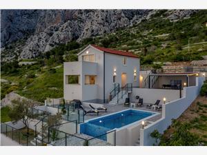 Vila No stress Drašnice, Kvadratura 130,00 m2, Smještaj s bazenom, Zračna udaljenost od mora 200 m