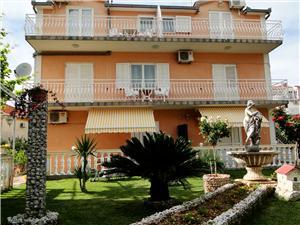 Ferienwohnungen und Zimmer Vikeli Trogir, Größe 16,00 m2, Luftlinie bis zum Meer 100 m, Entfernung vom Ortszentrum (Luftlinie) 400 m