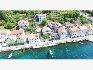 Ferienwohnung SeaShore Vjeko Lepetane (Tivat), Steinhaus, Größe 20,00 m2, Luftlinie bis zum Meer 5 m