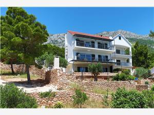 Ferienwohnungen REDSTONE luxury apartments Sv. Nedjelja ( Hvar), Größe 90,00 m2, Luftlinie bis zum Meer 50 m, Entfernung vom Ortszentrum (Luftlinie) 50 m