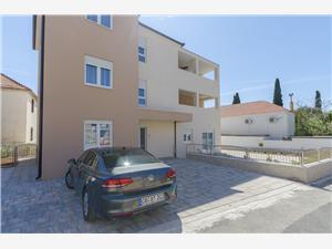 Appartementen Luxury and Sea View Brodarica, Kwadratuur 80,00 m2, Lucht afstand tot de zee 200 m, Lucht afstand naar het centrum 300 m