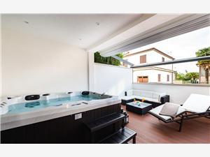 Apartament Auretta Novigrad, Powierzchnia 80,00 m2, Odległość do morze mierzona drogą powietrzną wynosi 30 m, Odległość od centrum miasta, przez powietrze jest mierzona 300 m
